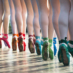 all about pointe shoes
