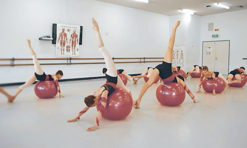 Newcastle Dance School Ballet Technique Image